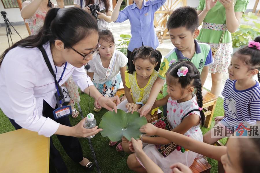 看花卉观植物生长 柳州园博园科普讲堂免费参加