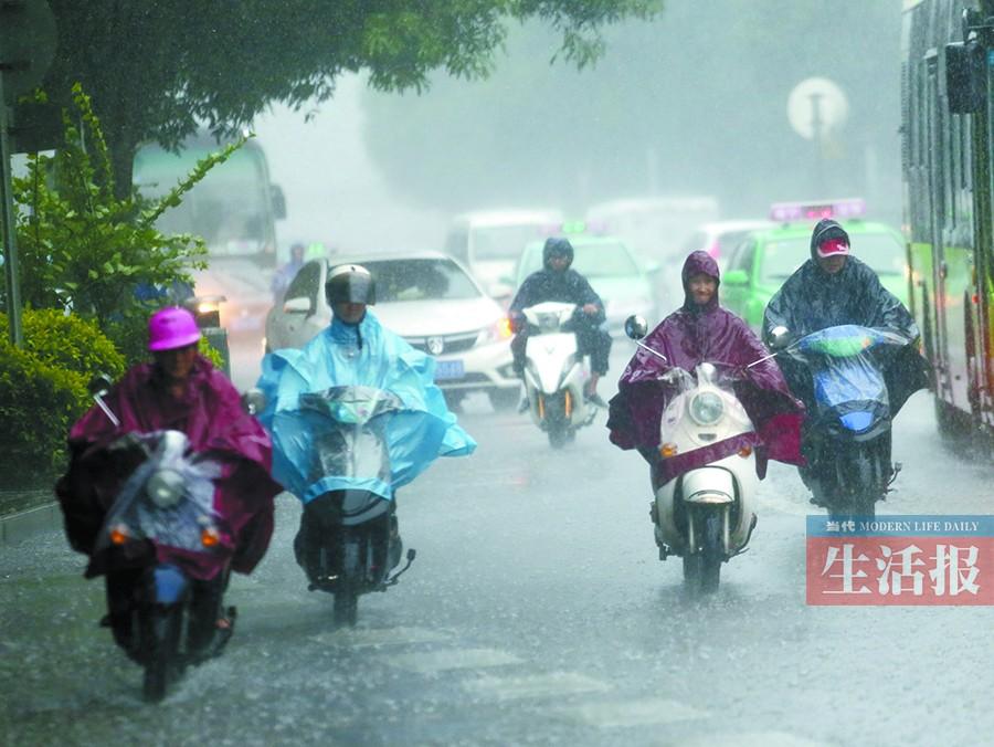 """""""广西气象台首席预报员赵金彪表示,目前已经持续了6天的这轮降雨过程"""