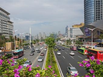 高清组图:南宁市民族大道修复后颜值大大提升