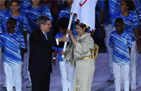 会旗交接 东京将承办2020年夏季奥运会