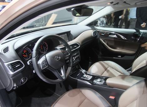 北京车展:英菲尼迪全新SUV QX30