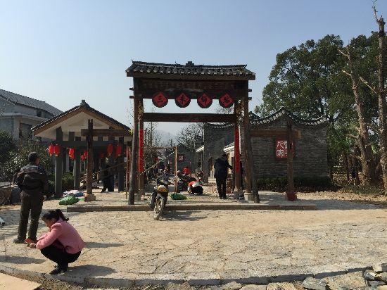 兴安县全力推进严关江西坪村全域生态旅游建设