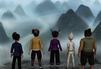广西打造动画 以花山岩画为背景