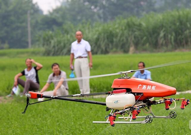 高清:融安县无人机统防统治助农增收