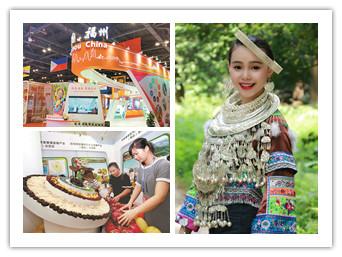 9月11日焦点图:柳州苗妹子向东盟展示中国美
