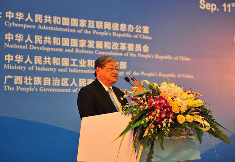 柬埔寨王国新闻部大臣乔干那烈先生致辞