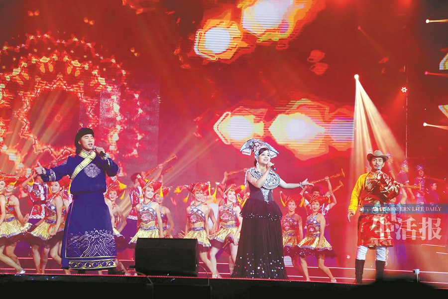"""第18届南宁国际民歌艺术节唱响 浓浓""""街坊味""""(图)"""