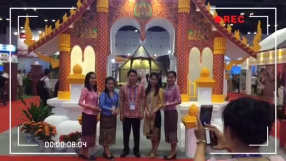 老挝 阿速坡省:穿越时空的金色屋顶