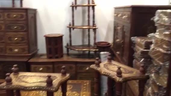 来自印度的特色花梨木小家具