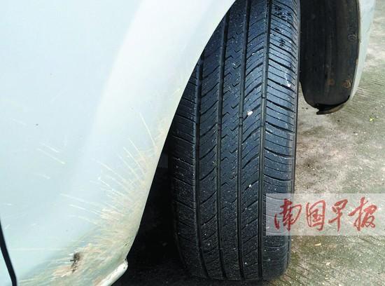同轴轮胎花纹不同存隐患 此类车辆不得上线年检-广西