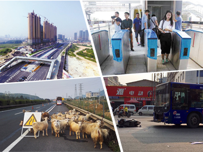9月24日焦点图:南宁拟建22条BRT快速公交线路