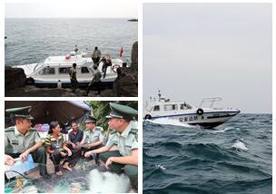 高清组图:送法上岛 服务渔民