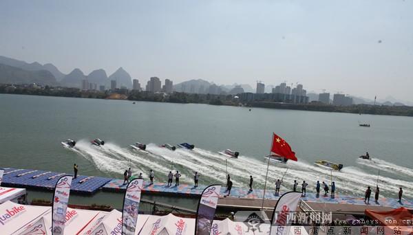 世界F1摩托艇顶尖赛手ag电子游艺官网对决 中国队获第二