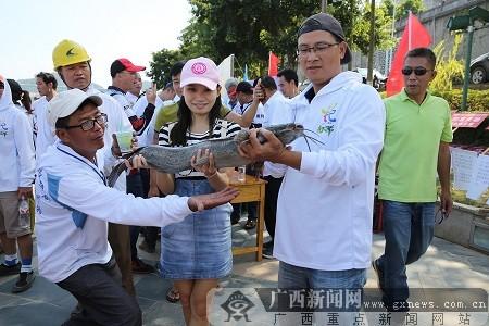 """狂欢节之""""生态柳州·绿色垂钓""""钓鱼大赛举行"""
