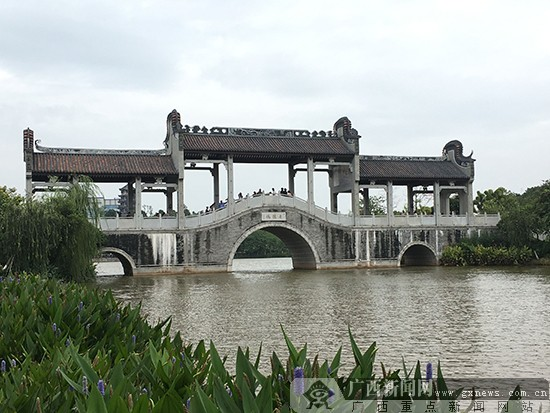 佛山罗村孝德湖风景.