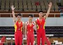 全国体操冠军赛:广西胡旭威男子单杠摘金
