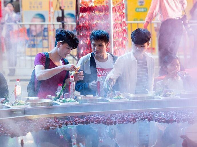 重庆火锅美食文化节开幕