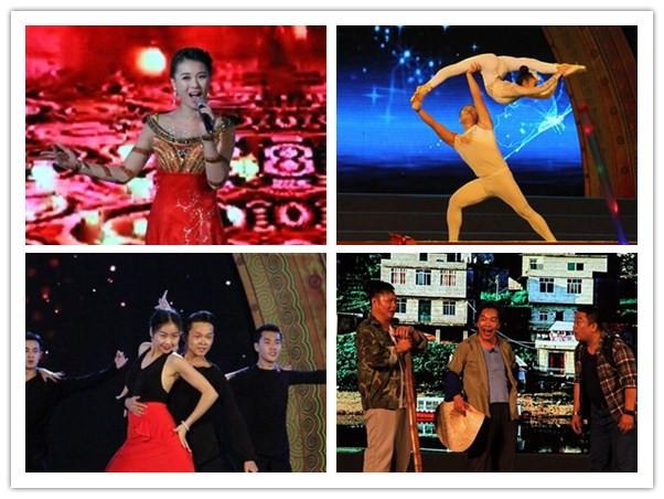 高清:第四届广西大化奇石文化旅游节开幕