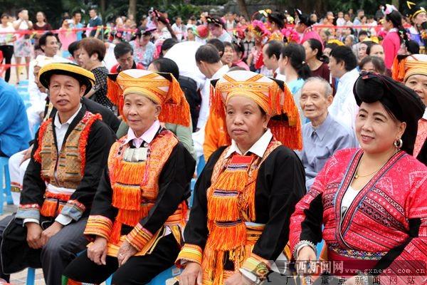 第十届桂林永福养生旅游福寿节开幕(图)