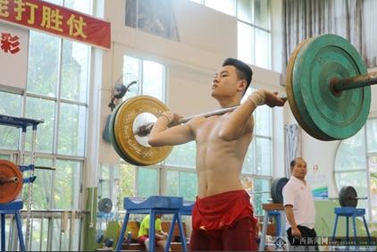 [体育走基层四]广西举重队:一支威震全国的队伍