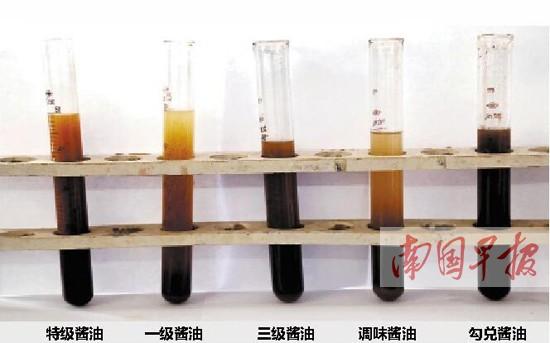 多数酱油标称 酿造  用酒精鉴别酱油优劣靠谱吗