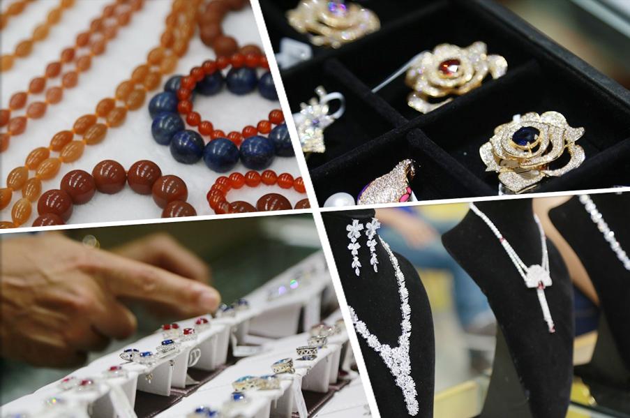 梧州宝石节盛大开幕 珠宝展上璀璨宝石惹人醉