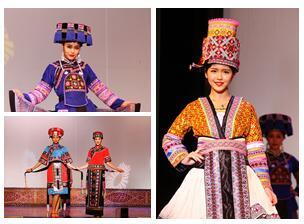 高清:广西隆林举办民族服饰展演活动