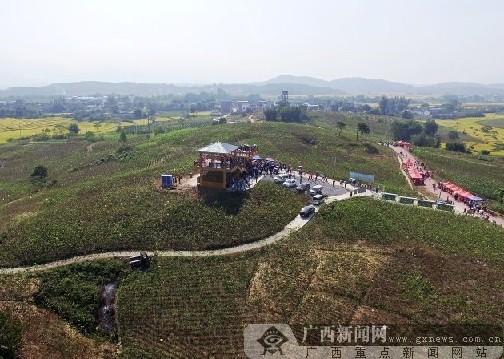 广西象州妙皇高楼风景