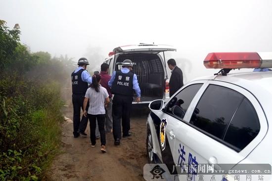 """那坡县人民法院法警凌晨出击擒""""老赖"""""""