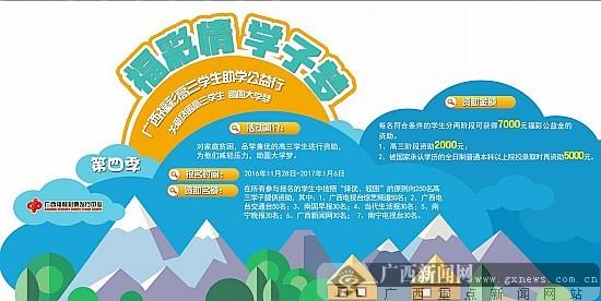 """第四季""""福彩情学子梦""""启动 助250名高三生圆大学梦"""