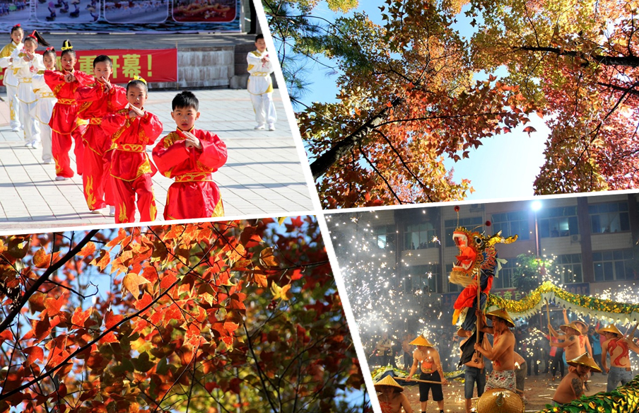 高清:德保迎来2016年红枫文化旅游观赏月