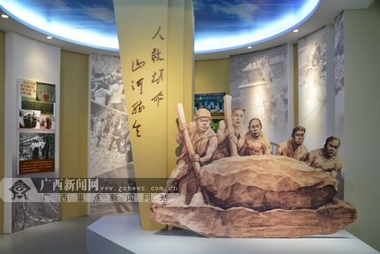 [河池行]观长寿博物馆 探寻巴马长寿的奥秘