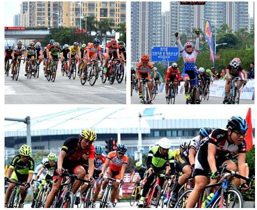 2016中国公路自行车巡回赛钦州站成功举办