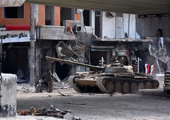 叙利亚政府军收复阿勒颇老城
