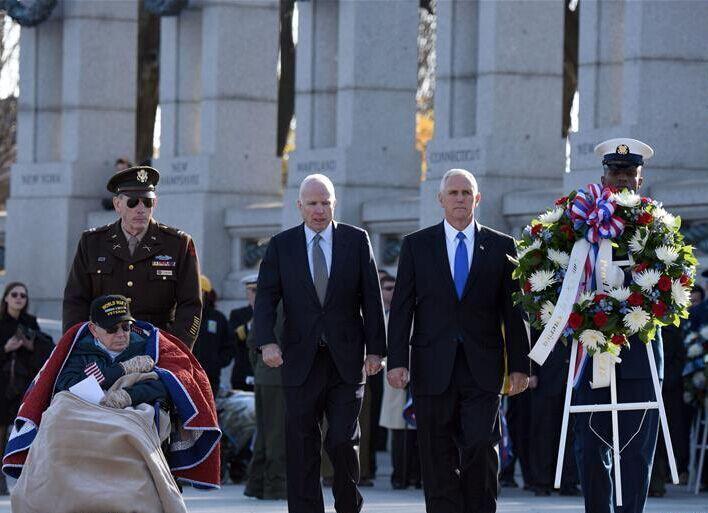 华盛顿纪念珍珠港事件75周年