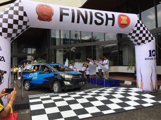 2016年中国―东盟国际拉力车赛在雅加达圆满收车