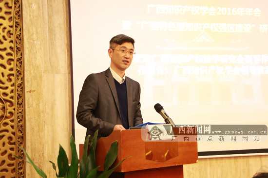 """""""广西特色型知识产权强区建设""""研讨会成功举办"""