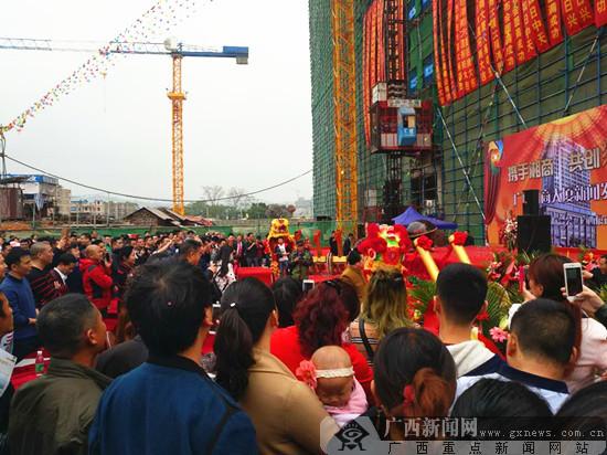 广西湘商大厦招商中心开放
