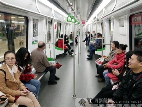 南宁轨道交通1号线全线开通试运营