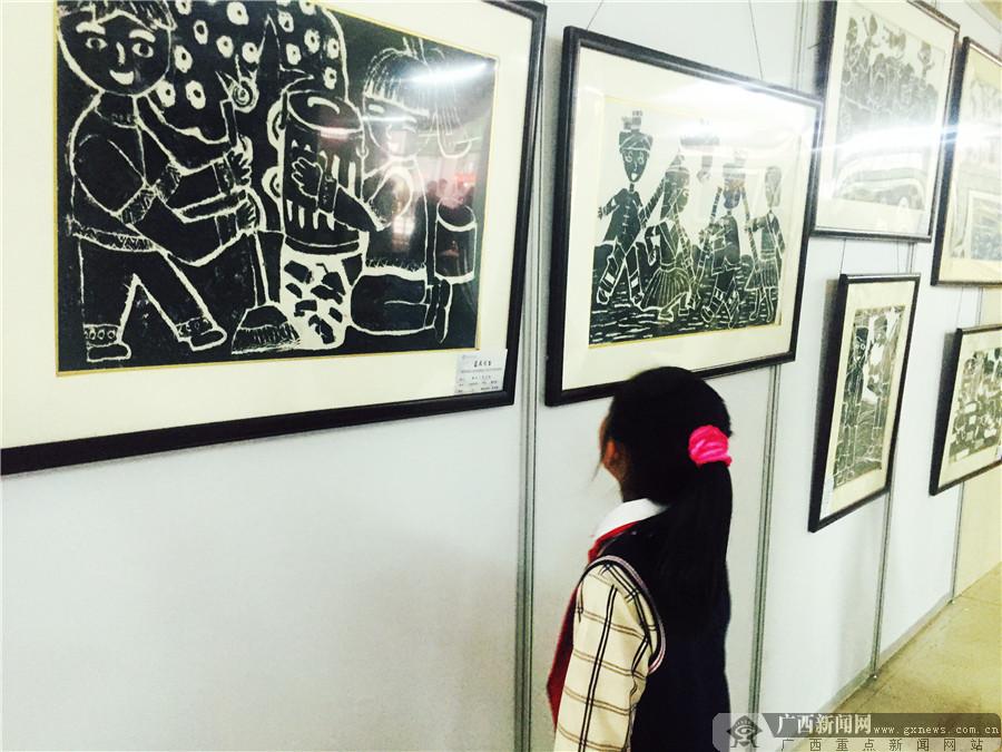 龙脊小画家手作200幅美术作品描绘最美家乡