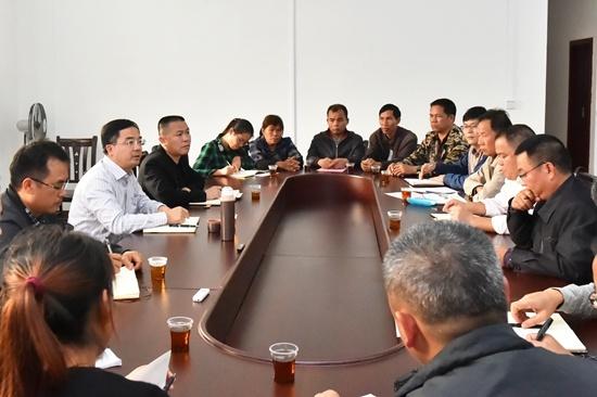上林县为打赢脱贫攻坚战提供有力保障