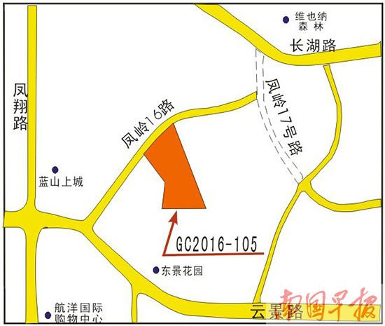 """南宁市出让一商业用地 云景路将添""""邻家广场"""""""