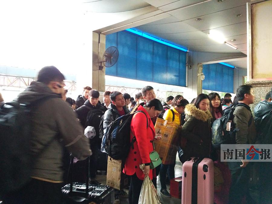 春运大幕13日开启 柳州火车站做足准备迎客流(图)