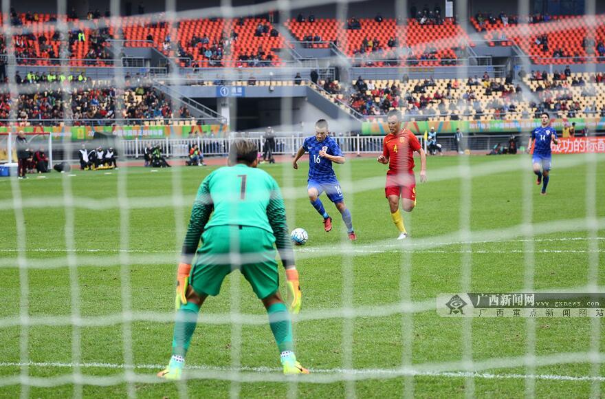 中国杯季军争夺战:点球大战中国队5:4胜克罗地亚