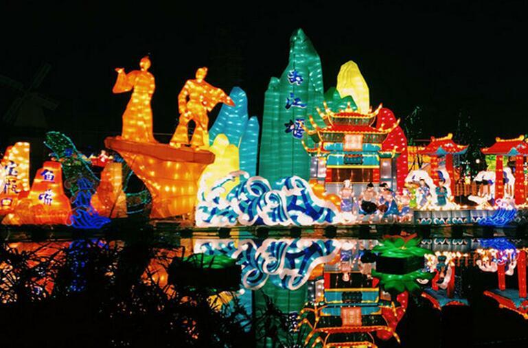 国际熊猫灯会 亮瞎眼了!