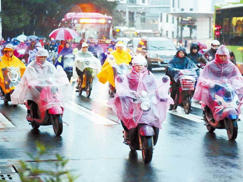 广西特有的冬天就是现在这样 春节期间或阴雨低温