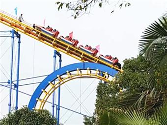 """过山车爬坡时""""突停"""" 公园解释:游客提出要下车"""