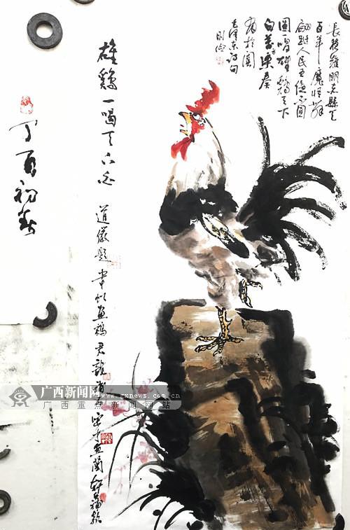 宾阳书画家精心策划宾阳制造 为5月进邕展览蓄力