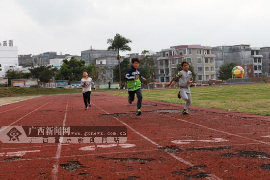 靖西市体校开展体育人才选拔集训 78名小选手入选