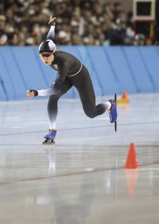 日本选手高木美帆在比赛中